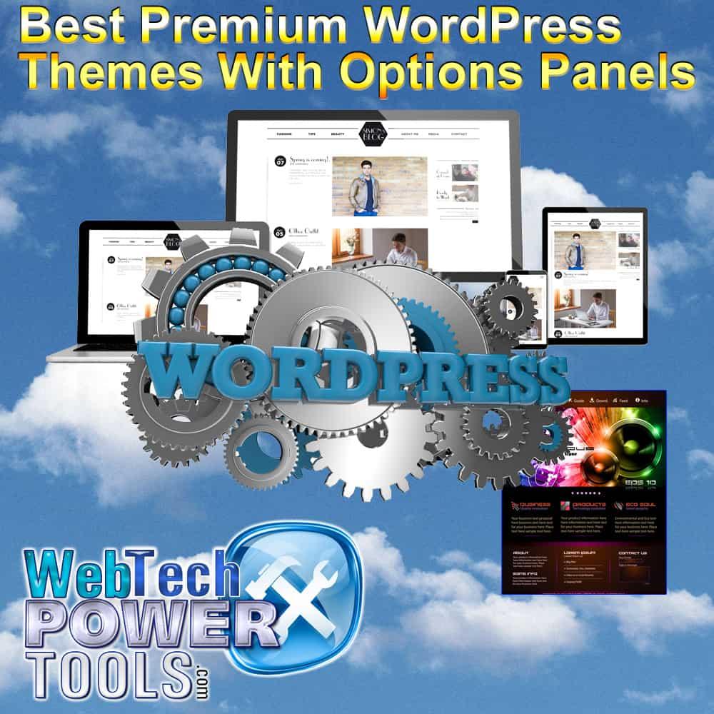 Best WPremium WordPress Themes with Options Panels