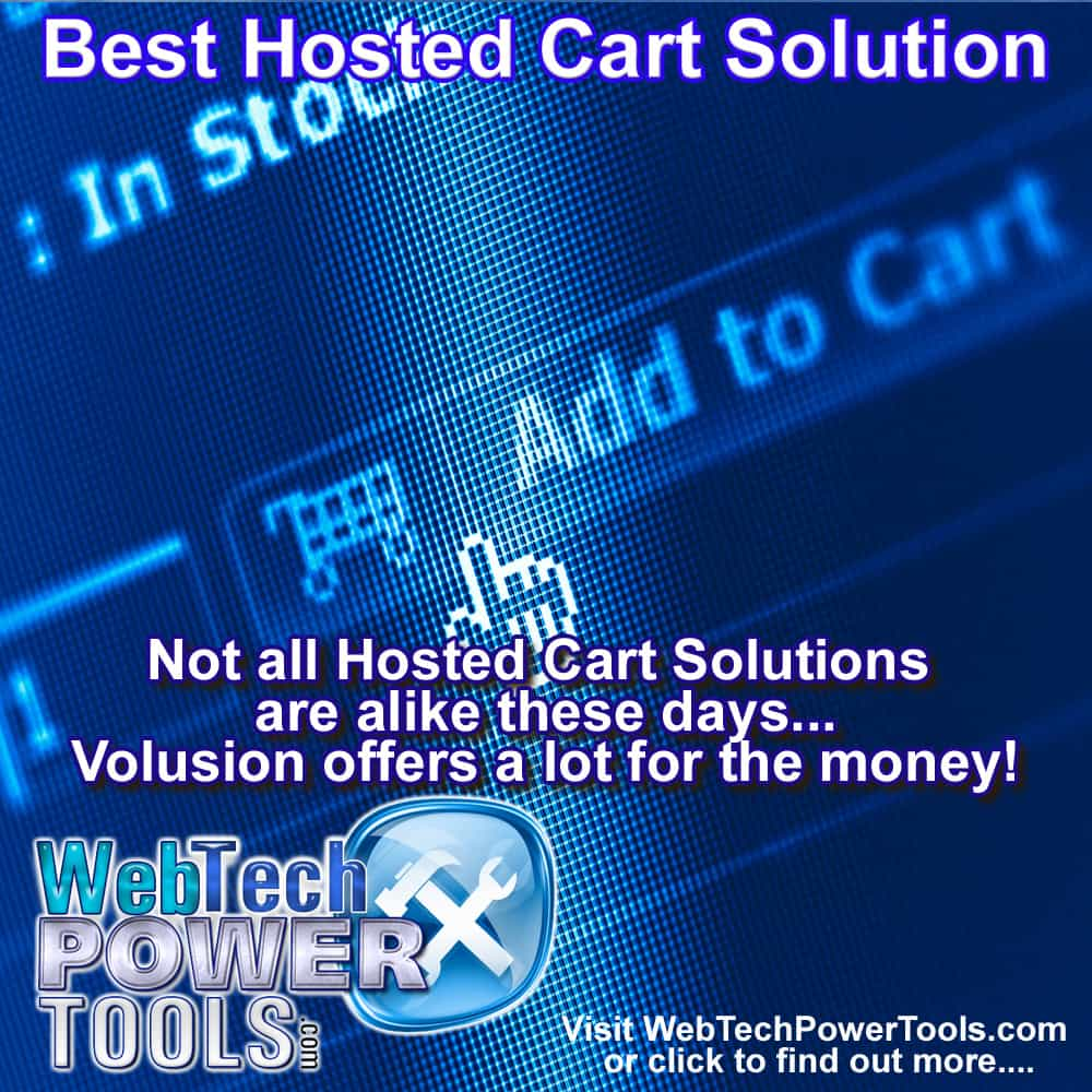 Volusion Review – A Powerful Hosted Shopping Cart Solution