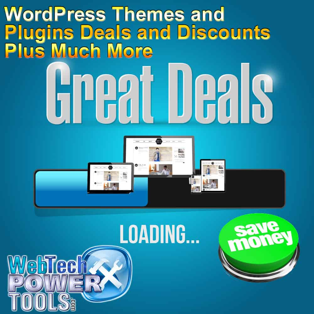 WordPress Themes and Plugins Deals and Discounts Plus More