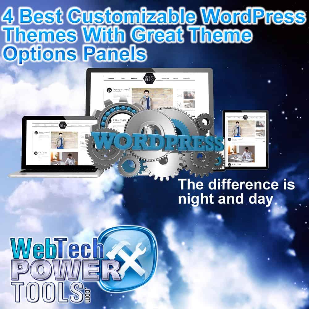 Customizable WordPress Themes With Great Theme Options Panels