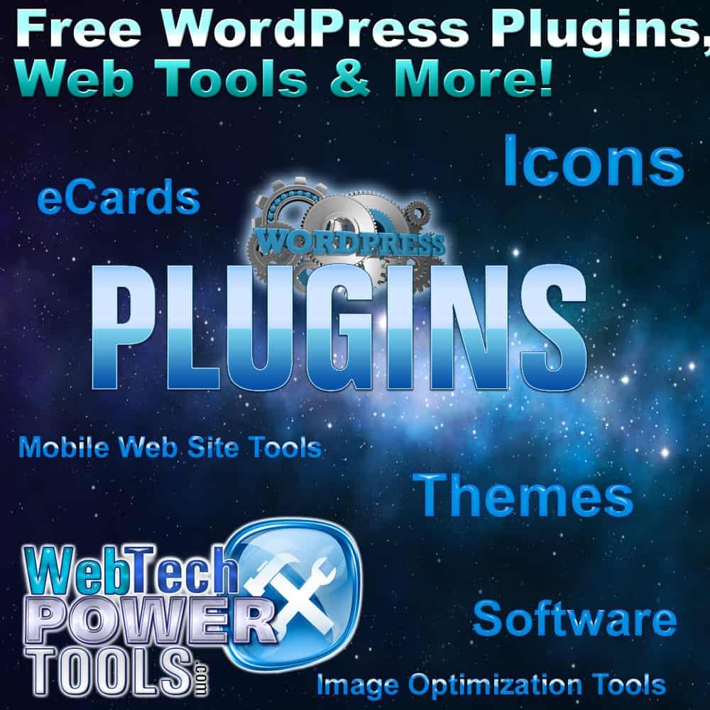 Free WordPress Plugins and Web Tools