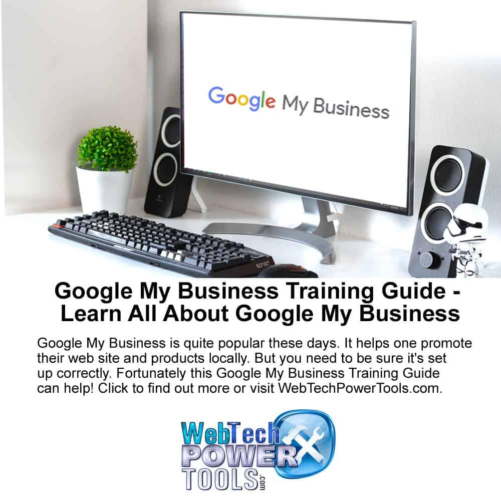 Google My Business Training