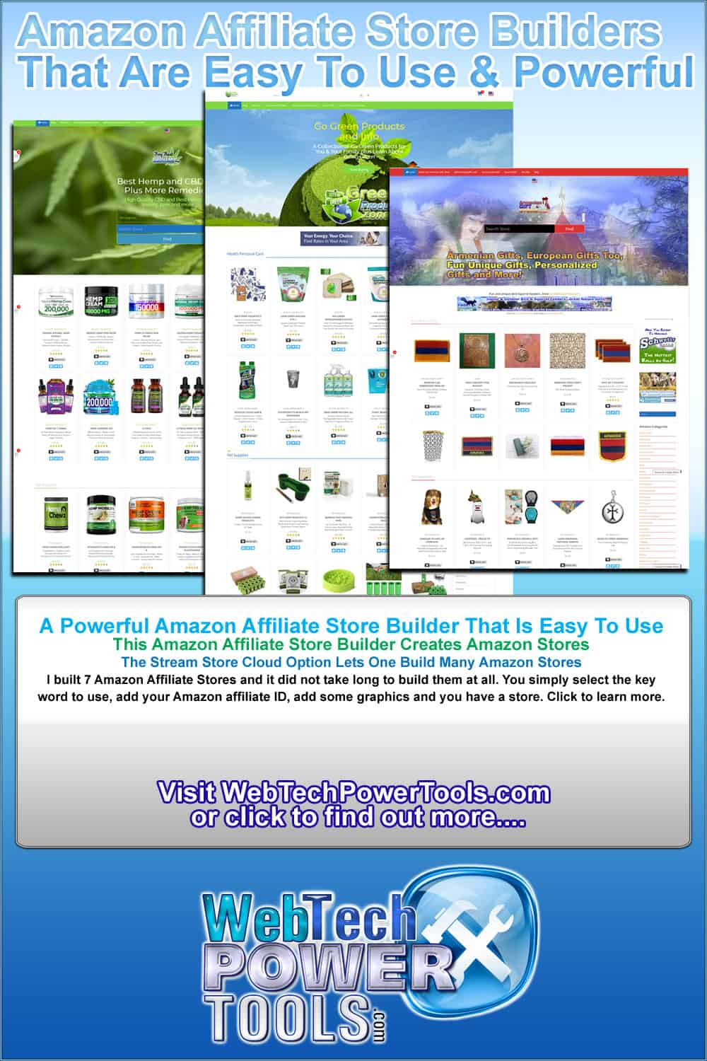 StreamStores Low Cost Powerful Amazon Store Builder
