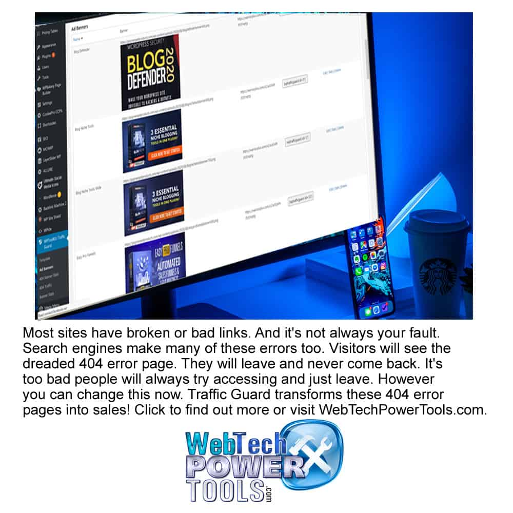Make Money With Dead Links! Changing To Good 404 Error Pages For Profit
